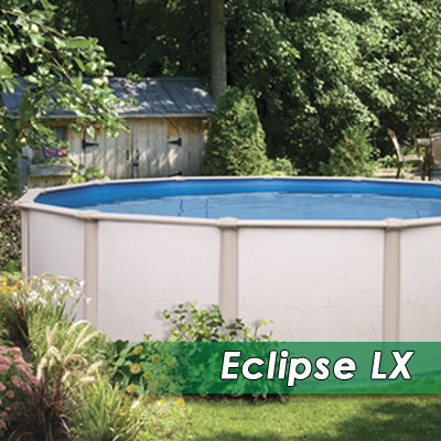 Eclipse lx kv pool service supply - Above ground pools for small spaces model ...